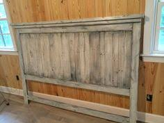 White Washed Farmhouse Head Board Pallet By RAllisonWoodworks