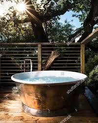 100 Tree Houses With Hot Tubs Woodsmans House Hot Tub Editorial Stock Photo Stock