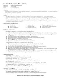 Technical Writer Resume Sample Excellent Creative Kx O11678