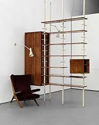 199 best wall shelving room dividers mid century images on