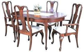Full Size Of Queen Anne Cherry Dining Room Table And Chairs Legs Marvelous Bunker Hill Leg