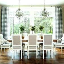 Plaid Curtains Dining Room Living Off Black