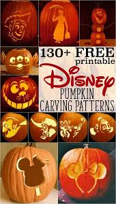 Mickey Mouse Pumpkin Stencils Free Printable by Pumpkin Carving Ideas The Boys Store Blog