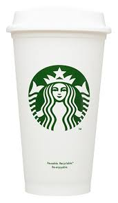 Starbucks Reusable Travel Cup To Go Coffee Grande 16 Oz