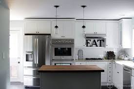 white kitchen cabinets with stainless appliances Kitchen and Decor
