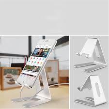 support telephone bureau support téléphone aluminium métal bureau dock iphone huawei