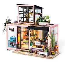 Amazoncom Rolife Dollhouse DIY Miniature Room SetWood Craft