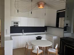 amenagement d une cuisine aménagement d une cuisine toute blanche élégante à bordeaux rive