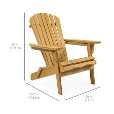 BCP Folding Wood Adirondack Chair Accent Furniture W/ Natural Finish ... Adirondack Chair Outdoor Fniture Wood Pnic Garden Beach Christopher Knight Home 296698 Denise Austin Milan Brown Al Poly Foldrecling 12 Most Desired Chairs In 2018 Grass Ottoman Folding With Pullout Foot Rest Fsc Combo Dfohome Ridgeline Solid Reviews Joss Main Acacia Patio By Walker Edison Dark Wooden W Cup Outer Banks Grain Ingrated Footrest Build Using Veritas Plans Youtube