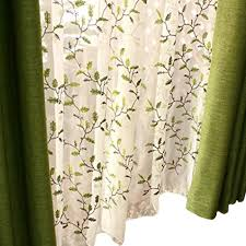 FADFAY Floral Embroidered Semi Sheer Curtains Botanical Design Elegant  Green Leaves White Sheer American Country Style Room Darkening Window  Curtain ... Overstockcom Coupon Promo Codes 2019 Findercom Country Curtains Code Gabriels Restaurant Sedalia Curtains Excellent Overstock Shower For Your Great Shop Farmhouse Style Home Decor Voltaire Grommet Top Semisheer Curtain Panel 30 Off Jnee Promo Codes Discount For October Bookit Coupons Yankees Mlb Shop Poles Tracks Accsories John Lewis Partners Naldo Jacquard Lined Sale At The Rink 2017 Coupon Code Valances Window Primitive Rustic Quilts Rugs