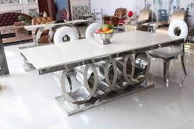 esstisch marmor und stuhl günstige moderne esstische 8 stühle