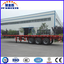 China 1/2/3/4 BPW Axles 20FT 40FT Container/Utility/Cargo Flatbed ...