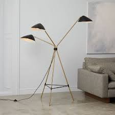 Pottery Barn Floor Lamps Discontinued by Modern Table Lamps West Elm