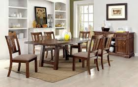 100 6 Chairs For Dining Room Furniture Of America CM3132T Oak Table With