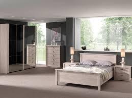 eliseo chambre à coucher complète coloris chêne espagnol modiva