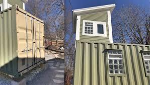 100 Building A Container Home Black Rock Shipping House Buffalo Rising