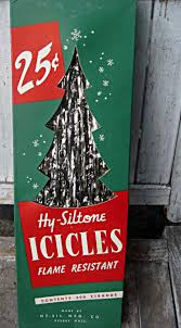 Gold Christmas Tree Tinsel Icicles by Vintage Christmas Trees Christmas Lights Decoration