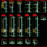 Kawneer Curtain Wall Cad Details by Structural Glass Curtain Wall Cad Details Integralbook Com