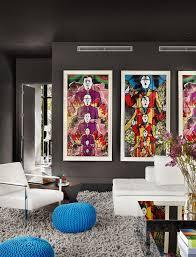 das wohnzimmer grau machen 101 ideen für einen modernen