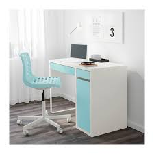 Micke Corner Desk Ikea Uk by Micke Desk White Light Turquoise White Light Turquoise 41 3 8x19