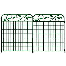 Decorative Garden Fence Home Depot by Decoration Divine Modern Metal Fence Panel And Fen Decorative
