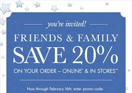 Pottery Barn Kids Friends & Family starts NOW Save  on your