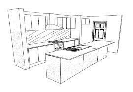 Simple Kitchen Drawing Ideas Kitchen Ideas Design dceez