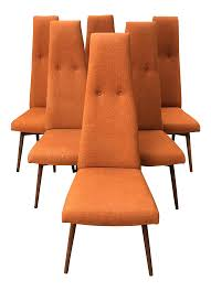 Adrian Pearsall Dining Chairs By Craft Associates - Set Of 6 In 2018 ... Danish Modern La Adrian Pearsall Brutalist Highback Ding Pair Of Tall Back Armchairs In Orange Velvet Set Of Five Mid Century Adrian Pearsall Style High Back Cane Ding Set Six Chairs For Craft Associates High Etsy Scoop Chair And Ottoman Midcentury From Fair Auction Co 1960s Vintage Style Teak Wood