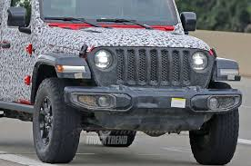 SPIED: 2018 Jeep Wrangler JL Unlimited Totally Uncovered 2019 Jeep Wrangler Pickup Designed For Pleasure And Adventure Youtube Jt Truck Testing On Public Roads Shows Spare Tire Mount Reviews Price Photos Unwrapping The News Ledge Scrambler Interior 2018 With Pictures Car The New Is Called And It Has Actiontruck Jk Cversion Kit Teraflex Overview Auto Trend Youtube Diesel