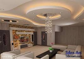 Modern False Ceiling Designs For Living Room 2019 With Lighting Ideas