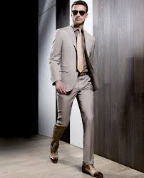 Mens Suits Fashion Trends Brown