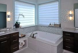 modern bathroom window treatments beautiful ideas bathroom