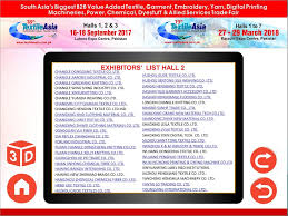 EXHIBITORS LIST HALL 2 CHANGLE DONGGANG TEXTILE CO LTD CHANGLE JIARONG INDUSTRIAL CO