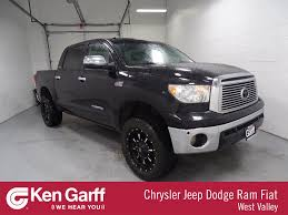 Pre-Owned 2010 Toyota Tundra 4WD Truck LTD Crew Cab Pickup In WEST ...
