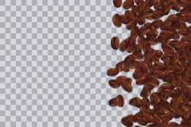 Download Creative Illustration Of Falling Roasting Coffee Beans Isolated On Transparent Background Art Design Seed