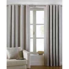 vorhang set striplin mit ösen blickdicht wayfair basics größe pro vorhang 117 b x 183 h cm farbe naturbelassenes beige