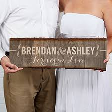 Personalized Basswood Wall Art Sign