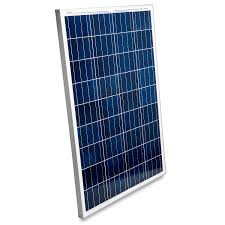 100 Vans Homes Details About 100 Watt Solar Panel 12V Poly Battery Charger OffGrid RV Boat Tiny