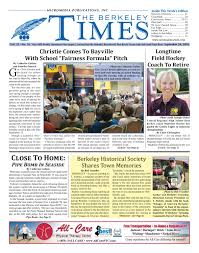 Toms River Halloween Parade History by 2016 09 24 The Berkeley Times By Micromedia Publications Issuu