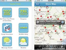 100 Truck Stop App