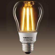 ul listed 7w a19 st19 led vintage bulb torchstar