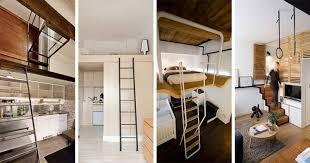 mezzanine chambre lit mezzanine 2 places 9 idées gain de place chambre adulte