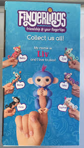 Fingerlings Monkey Bar Swing Playground With Exclusive Blue Fingerling Baby Liv
