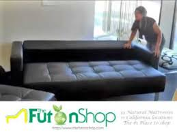 Kebo Futon Sofa Bed Youtube by Lincoln Park Futon Sofa Bed From The Futon Shop Youtube