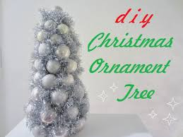 diy christmas ornament tree youtube