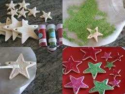 décoration sapin de noël en pâte à sel à faire avec les enfants
