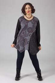 grossiste vetement femme grande taille tunique et robe en coton pour