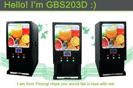Instant Tea Coffee Maker Machine Commercial Drinks Beverage Milk Juice Water Vending Dispenser
