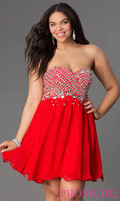 semi formal plus size party dress with corset promgirl