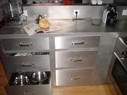 meuble cuisine inox superb meuble cuisine en inox 12 meuble cuisine inox brosse